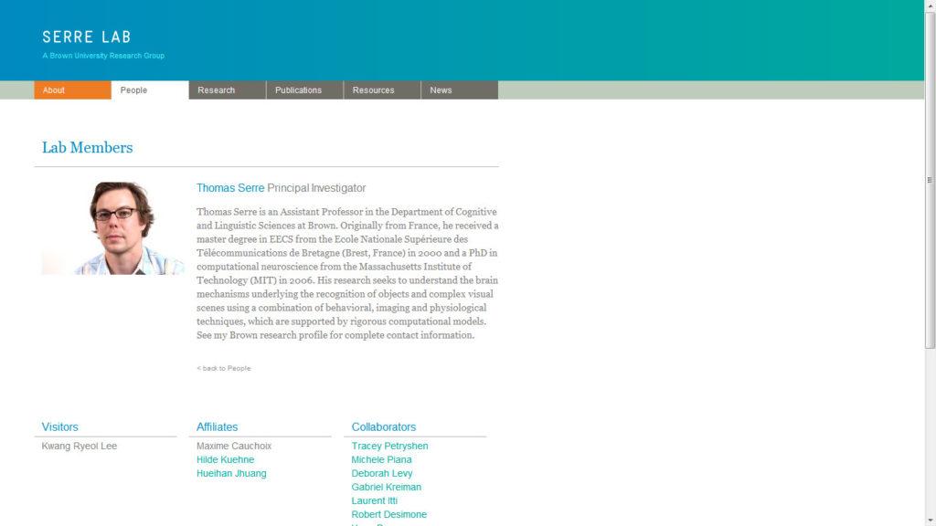 The serre lab website
