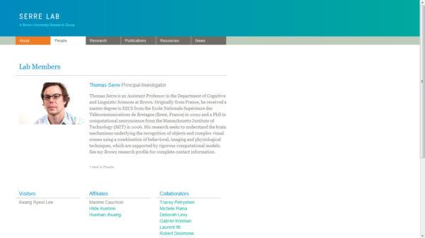 Serre Lab Website