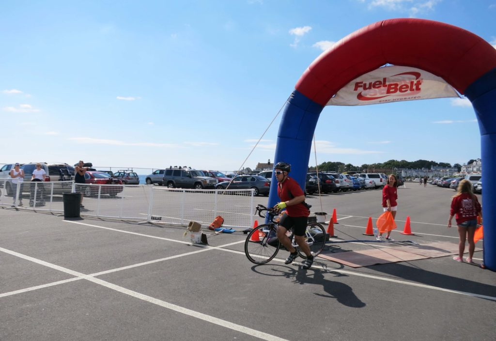Finishing up the bike leg