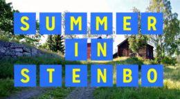 Summer in Stenbo