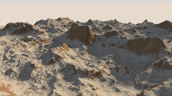 Raymarched Terrain