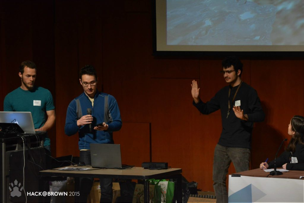 Presenting HoloScreen at Hack@Brown